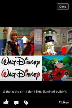Walt Disney and the illuminati!