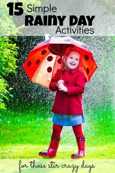 rainy day activities for kids Art Project for Kids Pinterest