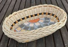 Pedigmania / Oválny košíček Laundry Basket, Wicker Baskets, Picnic, Organization, Outdoor, Home Decor, Getting Organized, Outdoors, Homemade Home Decor