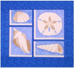 Paper pieced wall hanging. The 3rd quilt in a series of 3. Sand Dollar & More Quilt Pattern DW2-169 by The Designer's Workshop - Eileen Bahring Sullivan.  Check out our seasonal patterns. https://www.pinterest.com/quiltwomancom/seasonal-patterns/  Subscribe to our mailing list for updates on new patterns and sales! https://visitor.constantcontact.com/manage/optin?v=001nInsvTYVCuDEFMt6NnF5AZm5OdNtzij2ua4k-qgFIzX6B22GyGeBWSrTG2Of_W0RDlB-QaVpNqTrhbz9y39jbLrD2dlEPkoHf_P3E6E5nBNVQNAEUs-xVA%3D%3