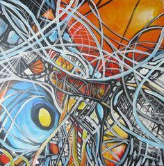 "Saatchi Online Artist Jennifer Gillia Cutshall; Painting, ""Mending"" #art"
