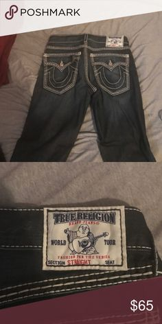 True religion jeans size 34 Jeans have never been worn. Size 34 True Religion Jeans Straight