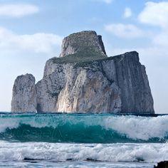 Iglesias - Nebida Masua Pan di Zucchero, this is such a beautiful place in Sardinia, love it... maior amor não há !!