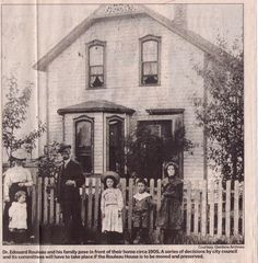 info on the 1885 Rouleau house