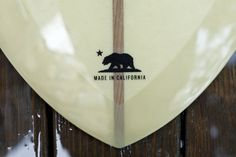 Made in California - Pintail Surfboard