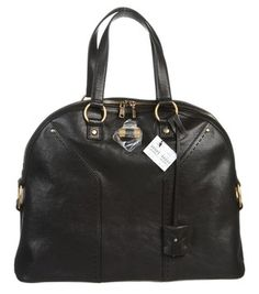 Saint Laurent Small \u0026#39;sac De Jour\u0026#39; Grained Leather Beige Gold Tote ...
