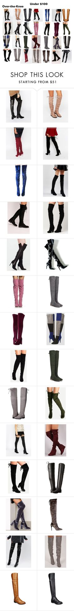 """Find Your Perfect Pair of Boots for Fall"" by sade-aladejana-lewis on Polyvore featuring ASOS, Truffle, Cape Robbin, Missguided, MIA, Lust For Life, Ashley Stewart, GUESS, WithChic and Chinese Laundry"