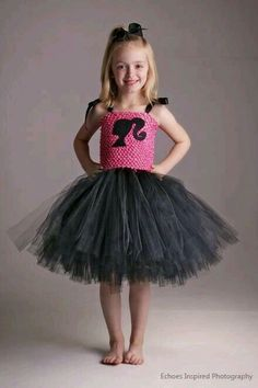 What Better Way To Make Your Little Princess Feel As Stylish The Barbie She Dresses Then This Adorable Tutu Dress