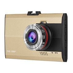 Dash Cam,Dpower HD 1080P Car Dash camera 3.0 Inches TFT LCD Screen Vehicle Blackbox Driving Video Recorder Loop Recording Camera 12 Million Pixels Built-in G-sensor Dashboard Slim Car Camcorder 170° Wide Angle View Car DVR Dash Accident Camera with IR Night Vision Motion Detection and SOS Function(A8 Golden)