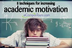 8 techniques for increasing academic motivation
