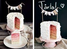 cake ombre!