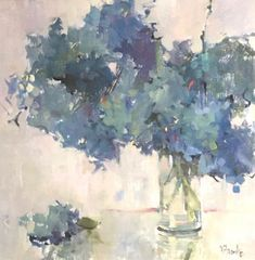I would place this painting above the television cabinet, on the brick wall. Acrylic Painting Flowers, Plant Painting, Abstract Flowers, Watercolor Flowers, Watercolor Paintings, Floral Paintings, Still Life Flowers, Flower Art, Bouquet