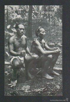 Postales: Islas Carolinas.Truk.Tipos Canacas.Mision de Carolinas.Postal.Post-card. - Foto 1 - 59531019