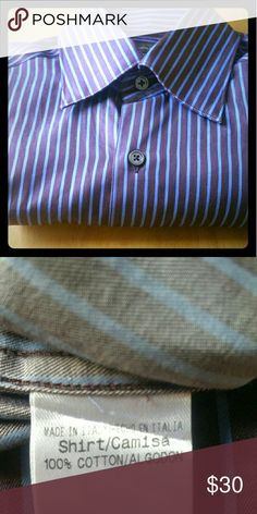Ermenegildo Zegna button down Zegna button down. Great condition. My husband takes care of his clothes.  Made in Italy. Ermenegildo Zegna Shirts Casual Button Down Shirts