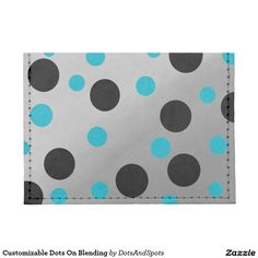 Customizable Dots On Blending Tyvek® Card Wallet