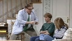 "A Pre-SNL Version of Matt Foley: Motivational Speaker....""Livin' in a VAN...down by the RIVER."""