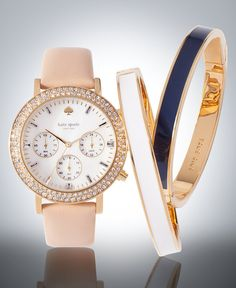 Kate Spade watches a