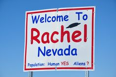 Aliens are welcome in Rachel, NV - photo by JD, via JD's Scenic Southwestern Travel Destination Blog