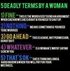 hahahah...this should be a PSA for men and posted on their walls at home ;-D