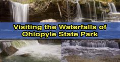 There are many waterfalls in Ohiopyle State Park, but here's information, photos, and video for the seven best waterfalls in this Pennsylvania park.