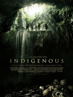 New Creature Feature Movie 'Indigenous' Poster - Hell Horror