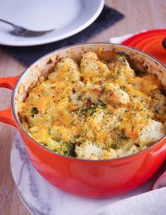 Vegan Cauliflower and Broccoli Cheese