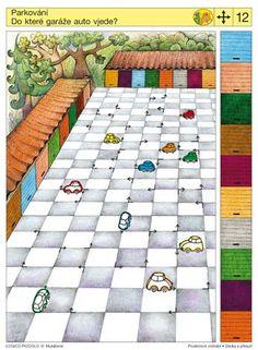 Soubor Logico Piccolo - Prostorové vnímání Sleduj a přesuň Vhodné pro děti od 5 - 8 let*Kam směřují palce, tam směřuje inos – nalezení shody mezi postavením* Různé směry pohledu*Všechno se
