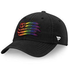 official photos 2d15a 567b4 Men s New England Revolution Black Fanatics Branded Pride Fundamental Adjustable  Hat, Your Price   23.99