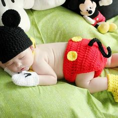MICKEY MOUSE Diaper Cover with Tail,Yellow Bow Tie gloves shoes, mickey hat  Girl or Boy, Preemie Newborn Infant  Halloween Costume
