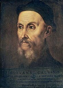 Theologian of the Protestant Reformation, John Calvin.  A misanthrope  who would astonish you. Click on the photo to find out why.