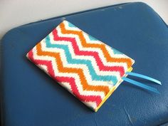 Ready Made Small book cover in Bright Cotton by keepeweclean, $9.00