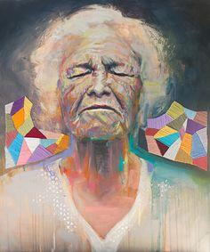 Original Portrait Painting by Charla Maarschalk Canadian Artists, Abstract Expressionism Art, Figurative Art, Bold Colors, Illustrators, Saatchi Art, Original Paintings, Canvas Art, Drawings