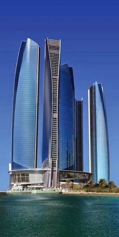 Amazing Snaps: Etihad Towers in Abu Dhabi | Via ~LadyLuxury~