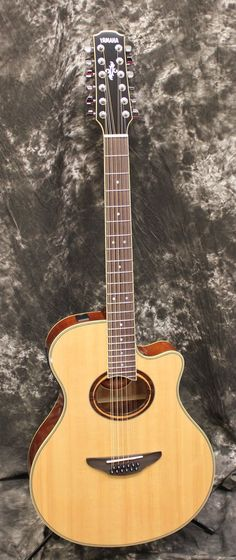 Yamaha APX700II-12 Thinline 12-String Cutaway Acoustic-Electric Guitar Natural