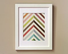 Art Print 8 x 10  Technicolor by witandwhistle on Etsy, $18.00 (would make a great quilt pattern.)
