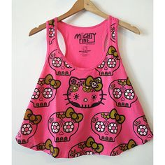 Hello Kitty Sugar Skull Tank
