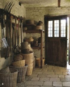 garden shed Garden tools, Garden room, - gardencare Clarence House, Potting Sheds, Potting Benches, Ivy House, Tool Sheds, Country Living, Outdoor Gardens, Rooftop Gardens, Indoor Gardening