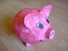 Das fertige Sparschwein