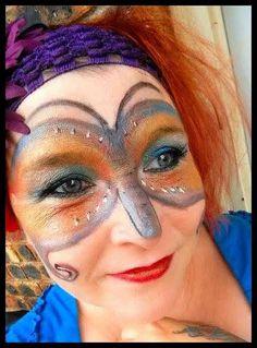 Maquillage fait avec les produits Younique #younique #produitnaturel #maquillage #papillon #butterfly  www.mascara3dwow.ca