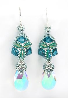 *P Opulent Earrings by Cindy Holsclaw
