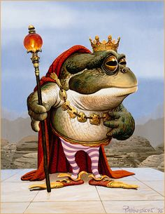 Keith Parkinson - Ploogak ...well, he is the Frog Prince, isn't he?
