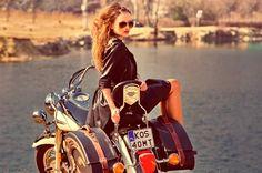Kurtki motocyklowe damskie idealne również na co dzień... oldschool :) www.ramoneska.pl