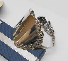 """Armband """"Hildesheimer Rose"""" mit Blümchen AB177 von Atelier Regina auf DaWanda.com"""