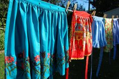 aprons on the line - Google Search