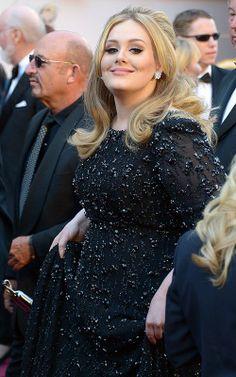 Adele in Jenny Packham gown - 2013  Academy Awards.  (February 2013)