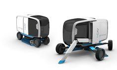 Carlos Schreib - Industrial Design - X-CAV - Street Sweeper Concept