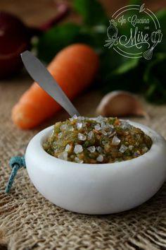 Battuto per sugo - Trito di sedano, carote e cipolla