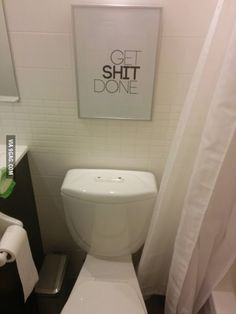 New Bathroom And Life Motivation. Funny Bathroom QuotesFunny Bathroom  DecorBathroom ...