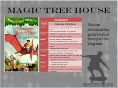 Dinosaurs Before Dark Magic House, Magic Treehouse, Guide Book, Dinosaurs, Vocabulary, Meant To Be, Dark, Words, School