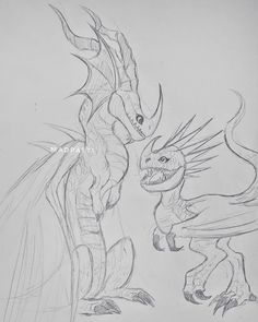 Stormfly and Garff the Death Song dragon Httyd Dragons, Got Dragons, Dreamworks Dragons, Dreamworks Animation, Fantasy Creatures, Mythical Creatures, Chinese Dragon Drawing, Night Fury Dragon, Dragon Sketch